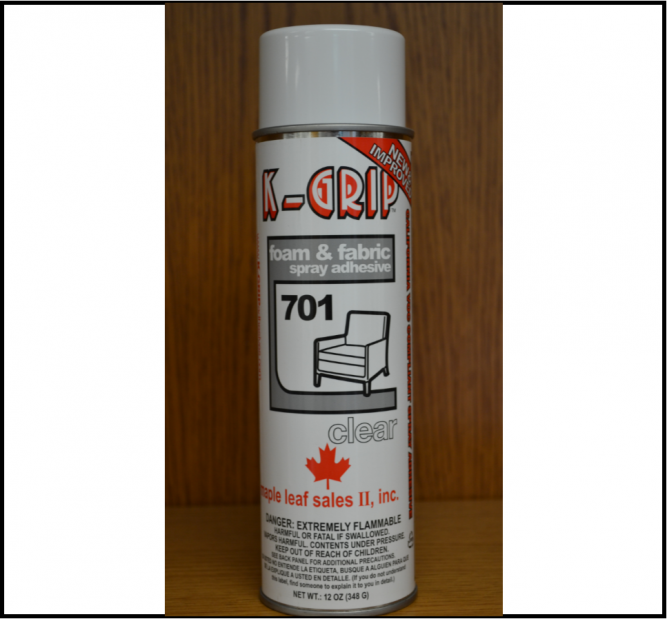 K-Grip 701 Foam & Fabric Adhesive