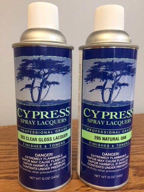 Cypress Spray Stain