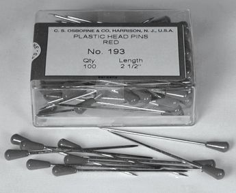 Plastic Tipped Pins Box