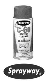 Sprayway C60 Cleaner 63